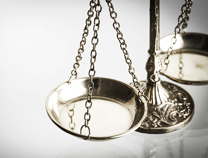 Weighing Scale of Justice